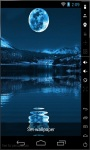 Blue Moon Night Live Wallpaper screenshot 1/2