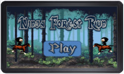 Ninja forest run  screenshot 1/3