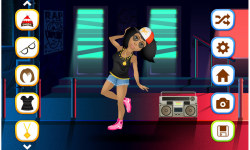 Hip Hop Fashion Stars Dress Up screenshot 2/5