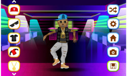 Hip Hop Fashion Stars Dress Up screenshot 3/5