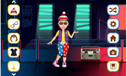 Hip Hop Fashion Stars Dress Up screenshot 4/5