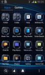 Go Launcher Black Theme screenshot 1/6