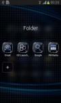 Go Launcher Black Theme screenshot 4/6