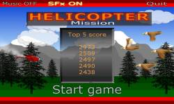 Helicopter Mission screenshot 1/3