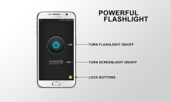 Powerful Tiny Flashlight screenshot 2/3