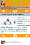 Quick Tips To Build Brawn screenshot 3/3