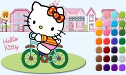 Kitty learn coloring screenshot 1/5