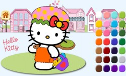 Kitty learn coloring screenshot 3/5