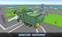 Flying Garbage Truck Driving screenshot 3/4