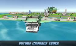 Flying Garbage Truck Driving screenshot 4/4