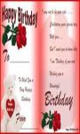 Birthday Card Editor-1 screenshot 1/4