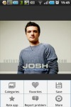 Cool Josh Hutcherson wallpapers screenshot 2/2