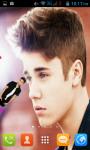 Justin Bieber Live Wallpaper Best screenshot 2/4