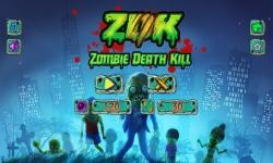 ZDK Zombie Death Kill FREE screenshot 1/4