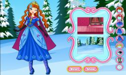Classic Fashion Princess Anna Dress Up Game screenshot 2/3