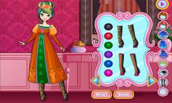 Classic Fashion Princess Anna Dress Up Game screenshot 3/3