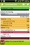 Nutrition Facts Assistant screenshot 1/4