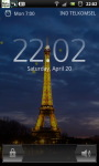 Eiffel Tower Night live Wallpaper screenshot 4/6