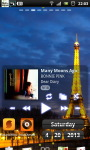 Eiffel Tower Night live Wallpaper screenshot 5/6