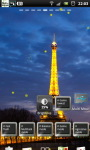 Eiffel Tower Night live Wallpaper screenshot 6/6