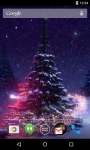 3D Christmas Tree Live Wallpaper screenshot 1/4