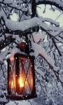 Snowy Lamp Live Wallpaper screenshot 2/3