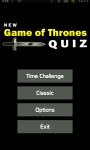 New Game of Thrones Quiz screenshot 1/5