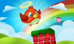 Flappy Angel Bird screenshot 1/6