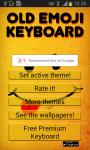 Old Emoji Keyboard screenshot 1/6