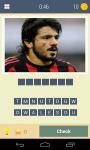 Guess the football player Quiz screenshot 2/5