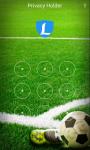 AppLock Theme Football screenshot 1/3