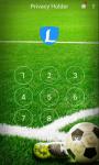 AppLock Theme Football screenshot 2/3