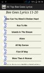 Top Bee Gees Song Lyrics screenshot 3/4