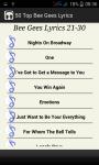 Top Bee Gees Song Lyrics screenshot 4/4