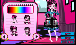 Draculaura Patchwork Dress screenshot 4/4