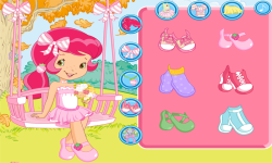 Strawberry Breezy Butterfly Swing Dress Up screenshot 1/4