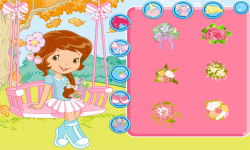 Strawberry Breezy Butterfly Swing Dress Up screenshot 2/4