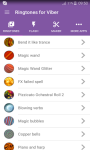 Ringtones for Viber™ screenshot 1/5