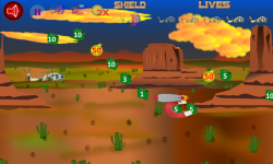 Helicopter Flying Desert screenshot 1/3