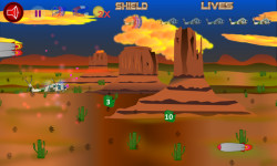 Helicopter Flying Desert screenshot 2/3