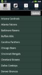 Pro Football Radio and Scores complete set screenshot 1/5