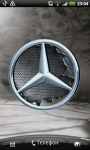 Mercedes Logo 3D Live Wallpaper screenshot 1/6