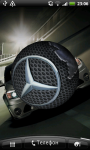 Mercedes Logo 3D Live Wallpaper screenshot 3/6