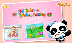 Sticker Puzzles by BabyBus screenshot 1/4
