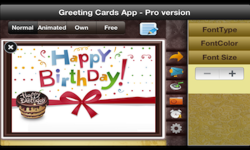 Greeting Cards App Pro eCards screenshot 2/4