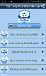 Fantasy Football Helper And Tips screenshot 1/4