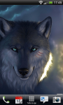 Beautiful Wolf Lwp Wave Effect  screenshot 4/5