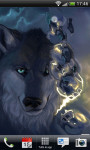 Beautiful Wolf Lwp Wave Effect  screenshot 5/5