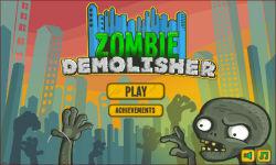 Zombie Demolisher screenshot 1/6