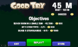You Are Toast 3 Prehistoric screenshot 2/4